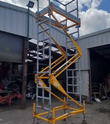 16ft Folding scalfolding tower