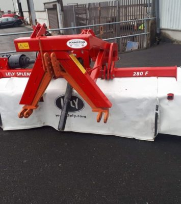 Lely 9ft Front Disc Mower