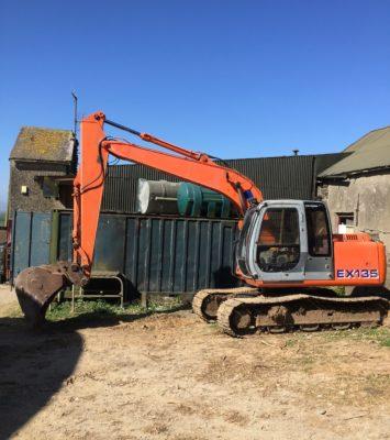Diggers excavator