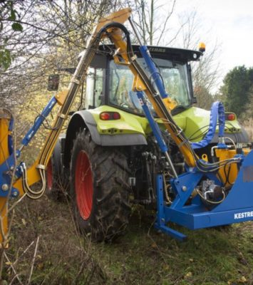 New Bomford Kestrel hedgecutter