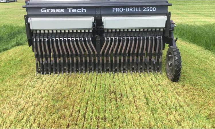 Pro-Drill 2500 grass seeder
