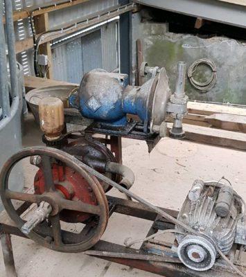Milk pump + motor + vacume pump