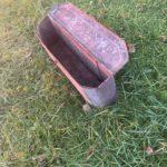 Massey swinging draw bar + tractor tool box