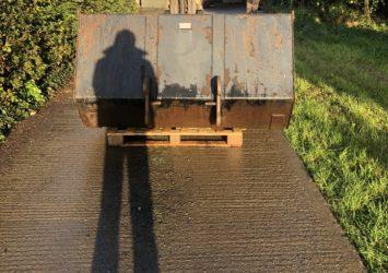 JCB Compact loader bucket